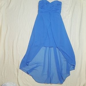 David's Bridal bridesmaid dress size 6 strapless